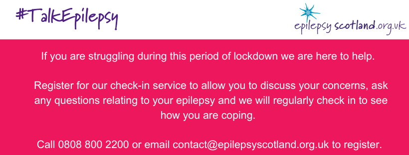 Epilepsy Scotland Check-In Service